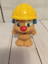 New listing Fisher Price Laugh & Learn Puppy Rattle Construction Hat Dog