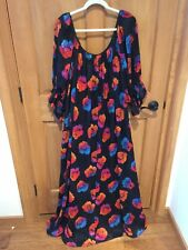 "VINTAGE  LUCIE ANN BEVERLY HILLS  gown 60"" bust PLUS SIZE!!!!!!"