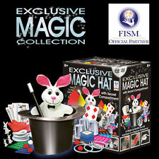 *NEW Exclusive Magic Trick Hat Set & DVD - 50 routines to master FISM Recognised