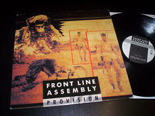 """Front Line Assembly """"Provision"""" 12"""" WAX TRAX USA 1990"""