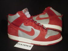 2005 Nike Dunk High Pro SB UNLV BE TRUE TO YOUR SCHOOL BTTYS GREY RED WHITE 13