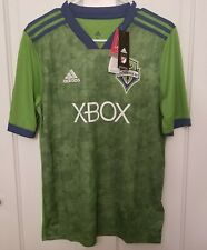 Adidas Sounders MLS Climacool Soccer XBOX One S Jersey Youth Xlarge XL NEW NWT