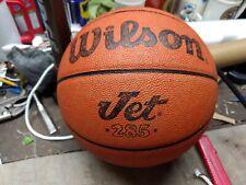 Vintage 1980s Wilson Jet Last Built Real Leather Basketball