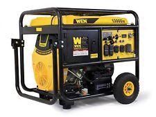 WEN 5613K 13000-Watt Portable Standby Generator with Wheel Kit & Electric Start
