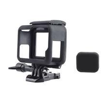 Protective Housing Case Mount w/ Soft Lens Cap Frame For GoPro Hero 5 6 7 Black