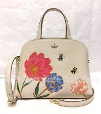 Kate Spade PXRU8822 Picnic Perfect BEE Floral Lottie Satchel Bag 2-Way Purse NWT