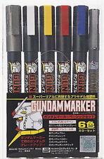 GSI Creos Gundam Marker Basic Set (6 Markers) From Japan