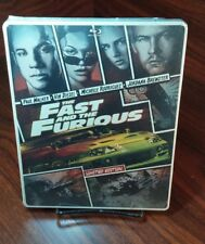 The Fast and the Furious(Blu-ray)Steelbook-NEW-Free S&H-Box Packing with Trackin