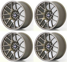 "XXR 530 18"" x 8.75 ET33 5x112 VW 5x100 FLAT BRONZE WIDE RIMS ALLOYS WHEELS Z1872"