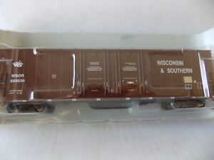 ATHEARN READY TO ROLL FREIGHT CAR 50 FT DOUBLE PLUG DOOR FOR W & S RR.