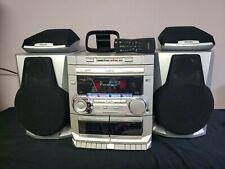 Phillips FW-C35/37 3cd Mini Hifi Cassette Remote Antenna Excellent