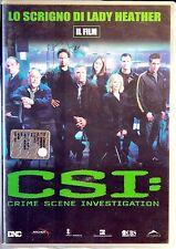 CSI - LO SCRIGNO DI LADY HEATHER - DVD N.00439/00440