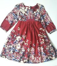 Girls Monsoon Floral Butterfly Dress size 11-12 sequin party