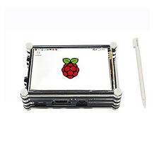 Raspberry Pi 3.5 inch touch screen kit for Pi 3 & Pi 2 with 9 Layer Case