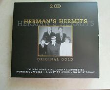David Bowie Herman's Hermits Original Gold Audio 2CD music British stereo track