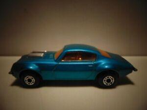 Matchbox #4 Pontiac Firebird - Near Mint, unpackaged