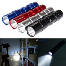 4Pcs 3W Police Waterproof Ultra Bright LED Mini Flashlight Torch Camping Lamp WE