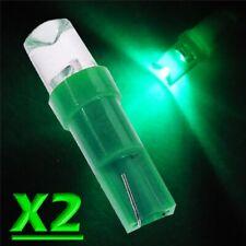 2 Pz LED T5 CONCAVE VERDE Lampade Lampadine Per Quadro Strumenti e Posizione