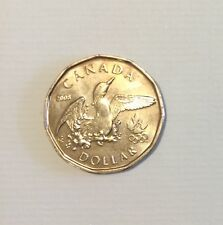 2008 Canada Olympic Luck loonie $1 UNC