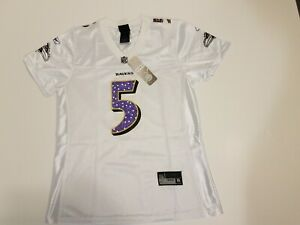 NEW Flacco #5 Baltimore Ravens Jersey - Women's Size L - Reebok NWT Authentic