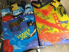 (1) One Trader Joe's Reusable Grocery Tote Bag San Francisco Exclusive Brand New