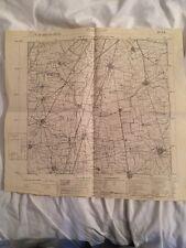Cartina Militare Del Comune Di Verdello (bg) Anno 1931