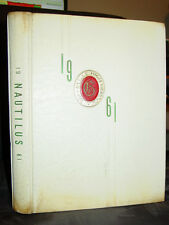The Nautilus 1961 Yearbook, Greenville High School, South Carolina, Rare