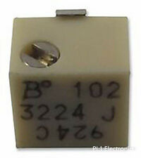 BOURNS - 3224J-1-201E - TRIMMER, POT, 200 OHM, 10%, 12TURN, SMD