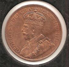 1936 BRILLIANT UNCIRCULATED Newfoundland Large Cent #5