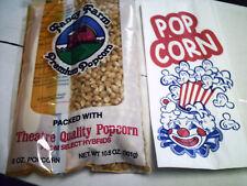 Popcorn Amp Bags Sacks 1 Oz Concession Ballpark 100 Ea Movie Night Party Pack