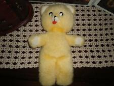 Antique Old Yellow Teddy Bear With Tongue Very Rare