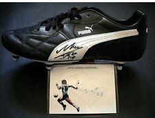 Diego Armando Maradona hand signed autographed Puma soccer boot shoe Napoli