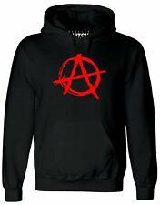 Anarchy Symbol Men's Hoodie - Punk Rock T Shirt Bedlam Evil Anarchist War Rocker