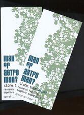 Man Or Astroman? 2 VIP CONCERT TICKETS 1998 VINTAGE/Clone ticket/stub/no-cd MINT