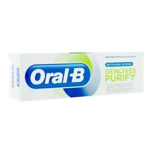 Lot de 3 Oral B Dentifrice gencives Purify 75 ml