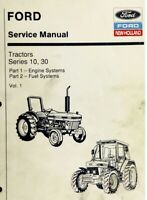 Ford New Holland Ford Tractor Service Manual Series 10, 30 Vol. 1 - Digital Form