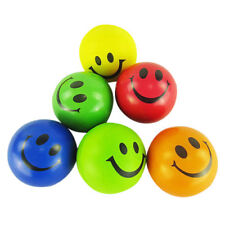 Smiley Face Anti Stress Reliever Ball Foam soft Autism Mood Toys Squeeze ADHD