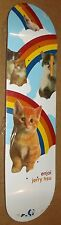 "2007 ENJOI JERRY HSU ""KITTEN DREAMS"" SKATEBOARD DECK  RARE CHOCOLATE EMERICA"