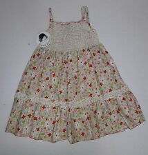 Sarah Louise Floral Sundress Size 5 All Cotton Smocked Sleeveless