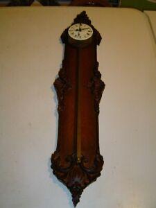 Sägeuhr-Vorderzappler Anno 1750 Uhr-Wanduhr Zahnstangen Uhr Ansehen !!!