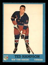 TED HAMPSON 62-63 TOPPS 1962-63 NO 55 EX+ 12548