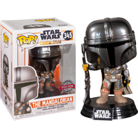 FUNKO POP - now available - STAR WARS - THE MANDALORIAN - CHROME - POP VINYL