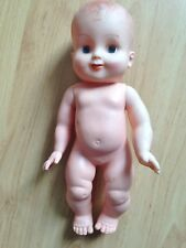 bébé baigneur silicone ancien 30 cm Années 60