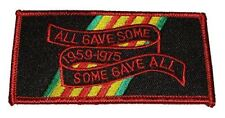 ALL GAVE SOME SOME GAVE ALL 1959-1975 VIETNAM SERVICE RIBBON PATCH