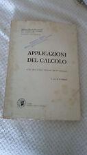 APPLICAZIONI DEL CALCOLO Scritti Offerti a Marco Picone GALLIGANI VESCHI 1975