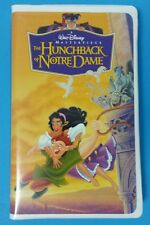 Walt Disney Classic The Hunchback of Notre Dame VHS Clamshell Case Demi Moore