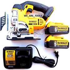 DeWalt DCS331 20V Cordless Speed Jig Saw,(2) DCB205 5.0 Battery, Charger 20 Volt