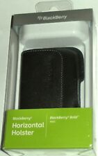 BlackBerry BOLD 9000 ORIGINAL LEATHER Belt Clip Holster ACC-19593-201 RETAIL BOX