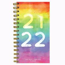 July 2021 June 2022 Spectrum Of Color Small Daily Weekly Monthly Planner