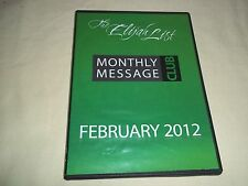 Christian Religous Inspirational - Audio CD Set - Monthly Message Club Feb. 2012